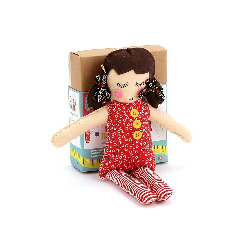 Make Your Own Rag Doll Craft Kit Dotcomgiftshop
